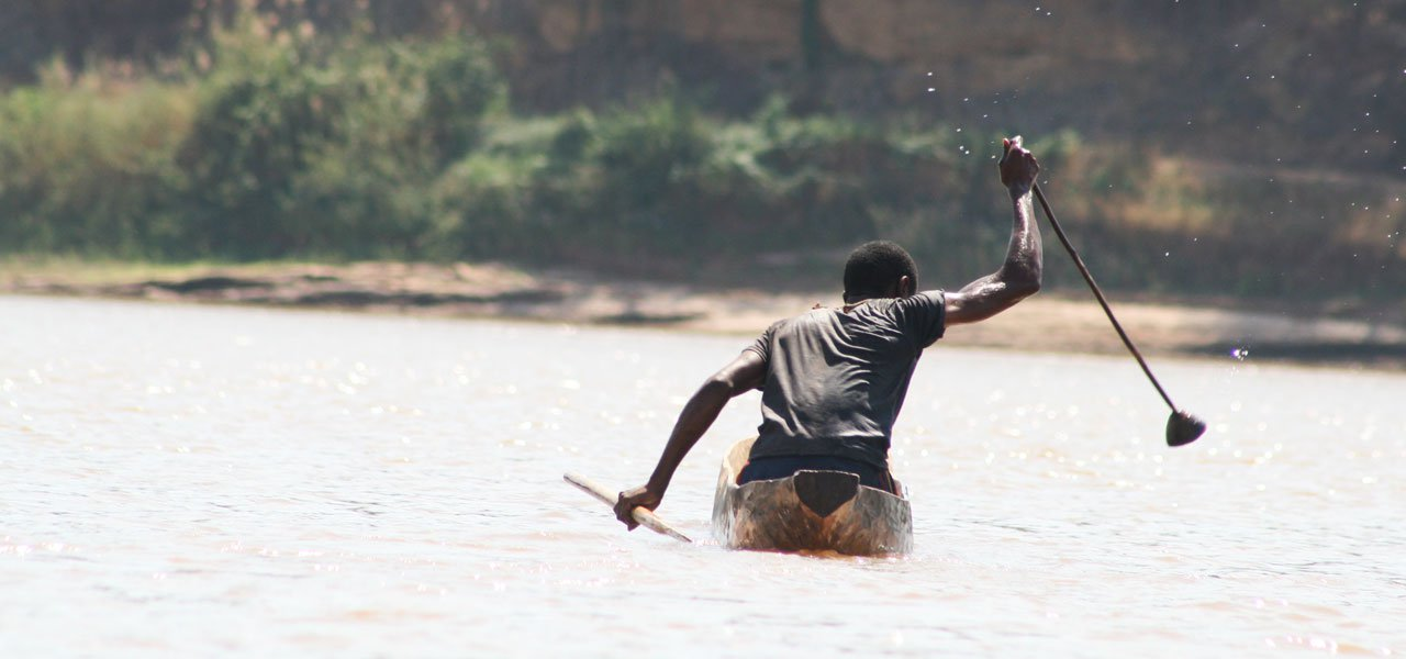 La rivière Tsiribihina